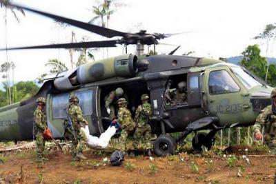 10 guerrilleros muertos por bombardeo al Eln