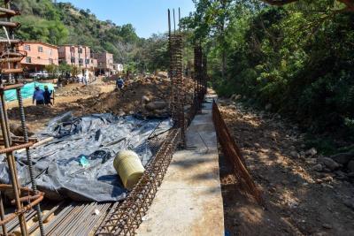 ¿Qué obras de infraestructura ejecuta la Alcaldía de Rodolfo Hernández?