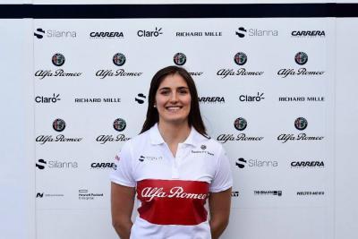 Tatiana Calderón, piloto de prueba de Alfa Romeo Sauber