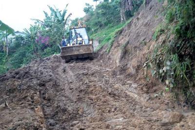 Vías rurales resultaron bastante 'damnificadas' por las recientes lluvias
