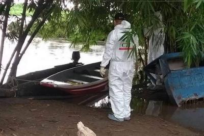 Pescadores hallan cadáver de un hombre en el río