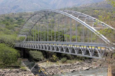 Puente 'Punteadero' está rehabilitado