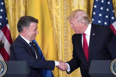 Anuncian visita de Trump a Colombia