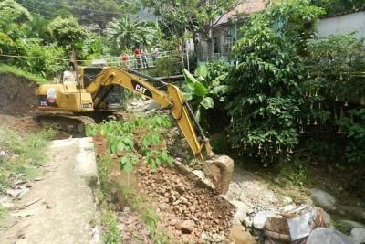 Habitantes de Villanueva solicitan intervenir la quebrada del sector