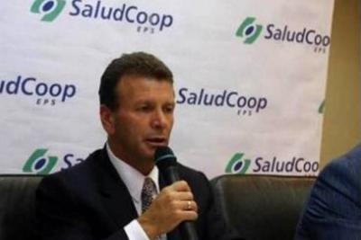 Por el descalabro de Saludcoop capturan a Carlos Palacino