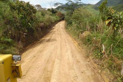 Avanza programa de mantenimiento vial