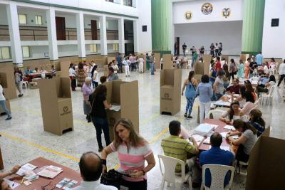 Así se inició la jornada electoral en Santander