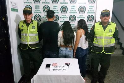 Envían a la cárcel a  cinco capturados por hurto en Floridablanca