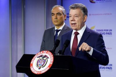 Santos reanuda los diálogos de paz con la guerrilla del Eln