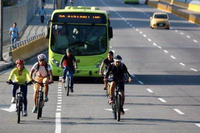Prestarán bicicletas para acceder a estaciones de Metrolínea en Bucaramanga