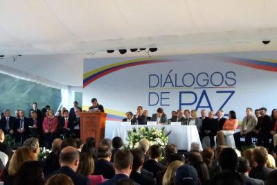 Almagro aplaude que Santos retome los diálogos con Eln