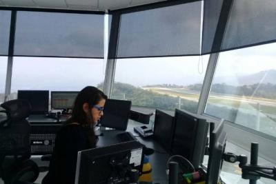 Este martes entró en operación nueva torre de control del aeropuerto Palonegro