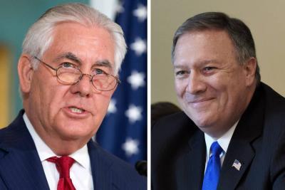 Trump nombra a director de la CIA en reemplazo de Tillerson