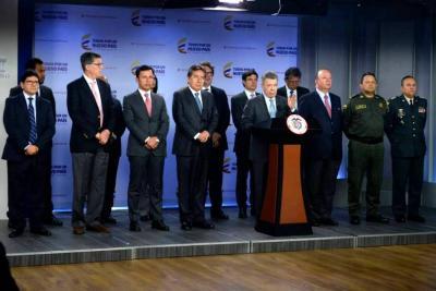 Santos hace llamado para que campañas presidenciales transcurran sin agresiones