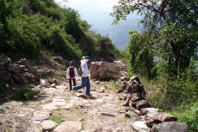 Recuperación del Camino Real Los Santos-Jordán se abre paso