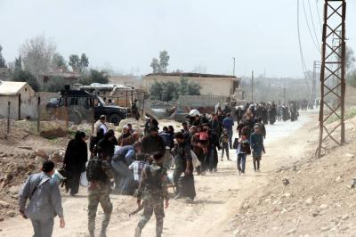 Siria, siete años de guerra con salida masiva de civiles
