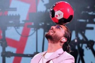 Desde Miami, Maluma presentó la canción oficial del Mundial de Rusia