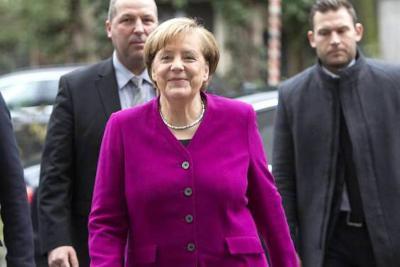 """Merkel afirma que """"no habrá boicot"""" europeo para el Mundial Rusia 2018"""