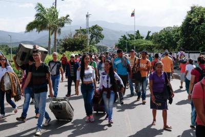 Cancillería colombiana anunció censo a venezolanos después de Semana Santa