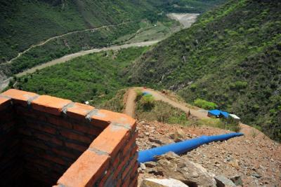 Acueducto Chicamocha, de nuevo fue suspendido