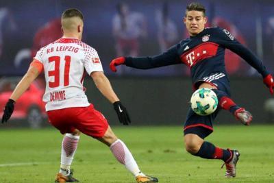 Sorpresiva derrota del Bayern con James en la cancha
