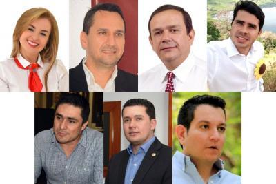 Entregan las credenciales a los siete Representantes a la Cámara por Santander