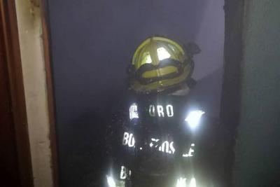 Bomberos controlaron incendio al Norte de Bucaramanga
