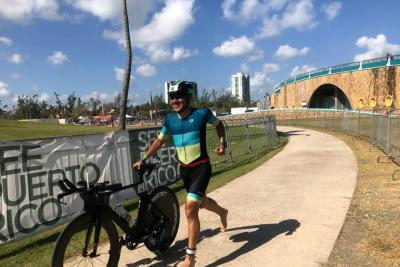 Andrés Felipe, podio del Ironman de Puerto Rico