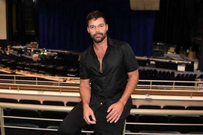 Ricky Martin se lesionó en uno de sus shows en  Las Vegas