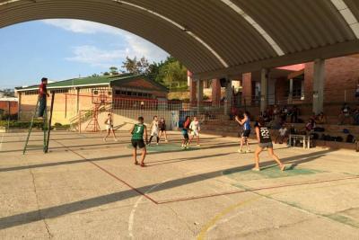 Volvió a tomar fuerza  el voleibol en el Socorro