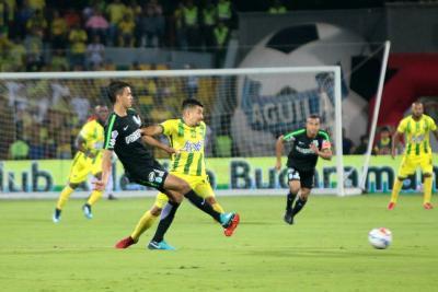 En un gran partido, Atlético Bucaramanga igualó sin goles ante Nacional