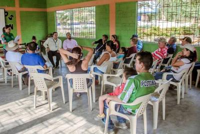 La Secretaría de Agricultura explicó los beneficios para las familias campesinas