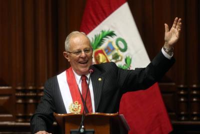 Congreso de Perú acepta la renuncia del presidente Pedro Pablo Kuczynski