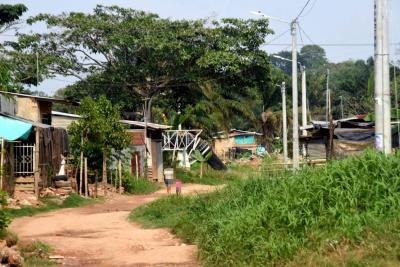 Evalúan situación de seguridad en asentamiento La Bendición de Dios