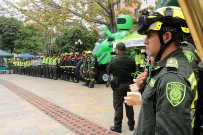 Listo esquema de seguridad para Semana Santa en Bucaramanga