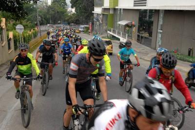Policía estudia acciones para garantizar seguridad a ciclistas