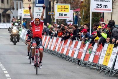 Triunfo de Járlinson Pantano; Bernal y Quintana en el podio