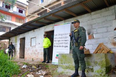 Caen 30 integrantes de la banda 'Los Monoloche' en Antioquia