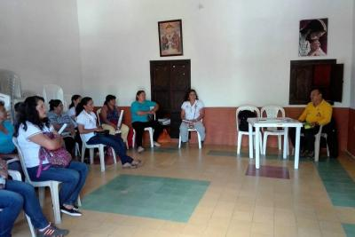Reunión de Asociación de Mujeres Cafeteras