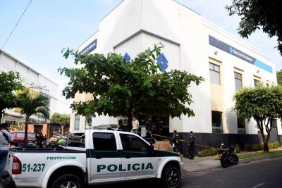 """""""Taquillazo en Banco de Occidente de Barrancabermeja fue de $9 millones"""": Policía"""