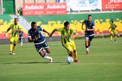 Atlético Bucaramanga al fin encontró el camino del gol: Derrotó 4-1 a Alianza Petrolera