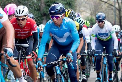 Quintana sumó un nuevo podio en la Vuelta a Cataluña