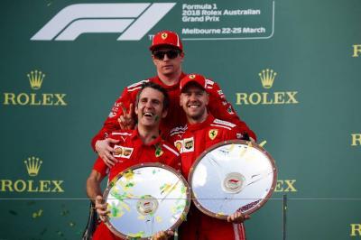 Sebastian Vettel ganó en Melbourne