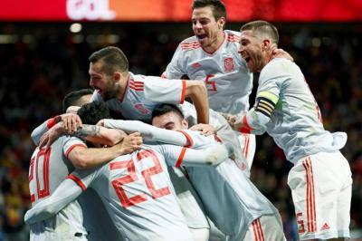 Humillación gaucha: España goleó 6-1 a Argentina
