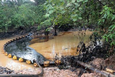 Ecopetrol negó ocultar información sobre el derrame de crudo en Santander