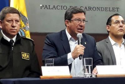 Equipo periodístico secuestrado en Ecuador estaría en Colombia