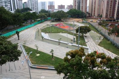 En 20 días se entregan los parques de Boca Pradera y Cristal Alto en Bucaramanga
