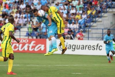 Con un gol en el último minuto de Pérez, Atlético Bucaramanga venció 1-0 a Jaguares