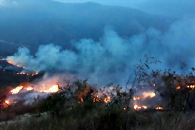 Piedecuesta ya reporta cinco incendios graves este año