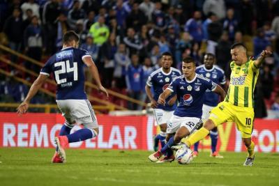 Bucaramanga fue goleado 4-1 por Millonarios